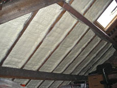 Izolace stropů apodkroví